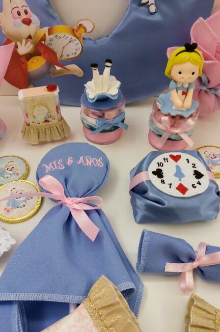 Candy Box personalizado y temático alicia en el pais de las maravillas