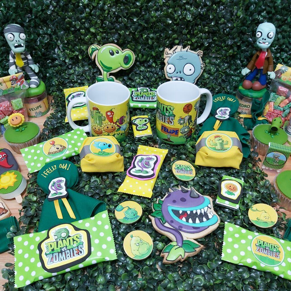 plantas vs. zombies cumpleaños temáticos infantiles a domicilio