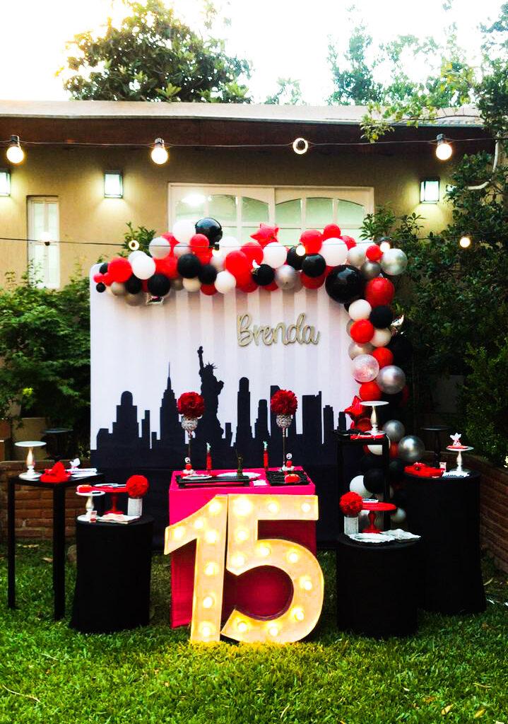 Cumpleaños temáticos para quinceañeras NY CITY