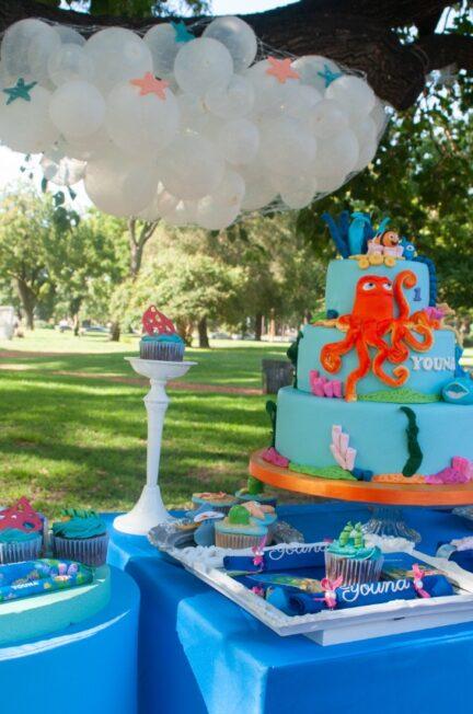 cumpleaños al aire libre